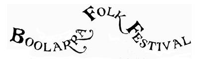 Boolarra Folk Festival Logo